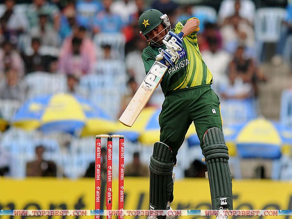 Younus Khan Batting