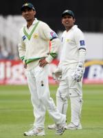 Yasir Hameed With Kamran Akmal