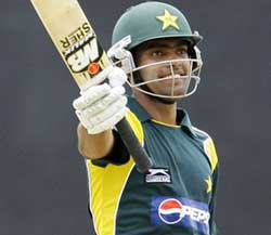 Wonderful Innings By Umar Akmal Scored 102 Runs Against Afganistan.