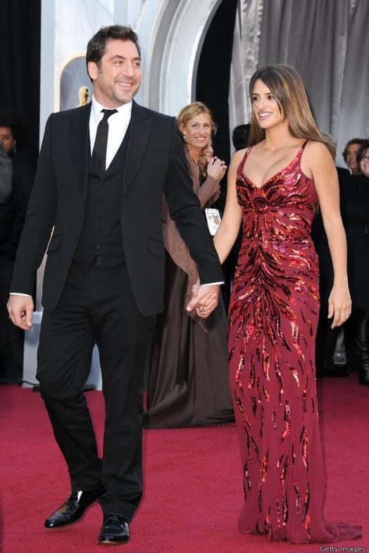 Penelope Cruz with husband