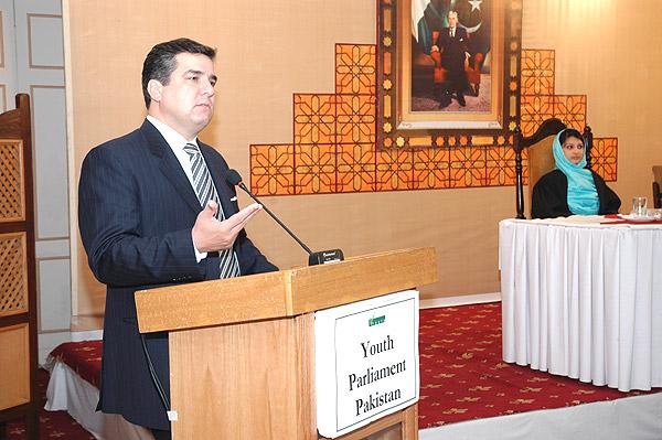 Daniyal Aziz speech in Youth Parlimant