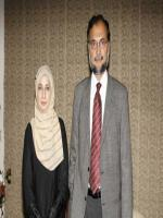 Ahsan Iqbal with wife