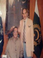Muhammad Riaz Malik With President Zardari