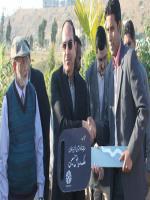 Muhammad Riaz Malik Giving car Gift