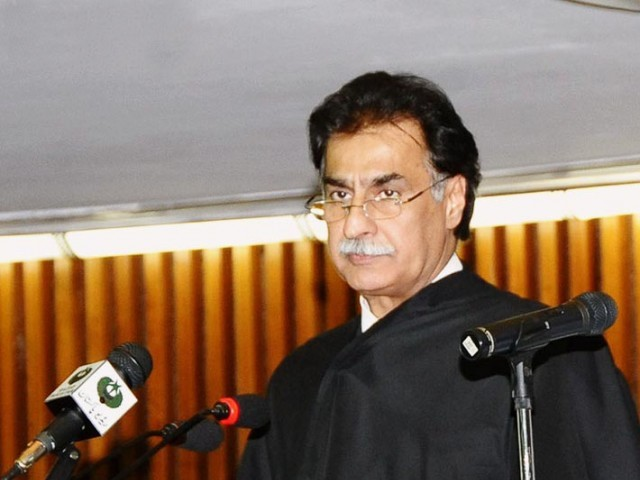 Sardar Ayaz Sadiq Speaker National Assembly