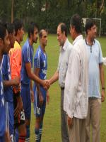 Shaikh Rohale Asghar with WAPDA Players