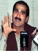 Khawaja Saad Rafique Taking to Media