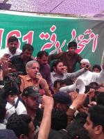 Muhammad Afzal Khokhar with Shahbaz Sharif