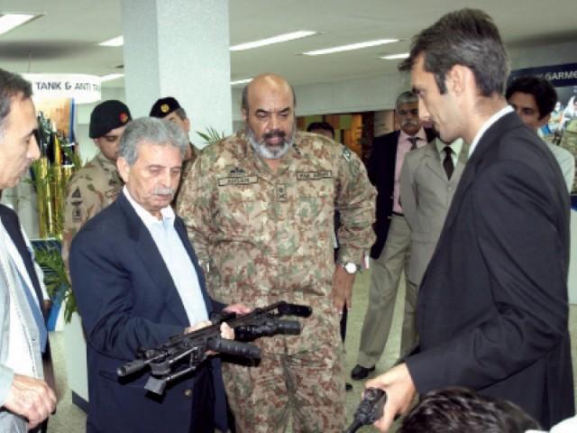 Rana Tanveer Hussain checking defence capability