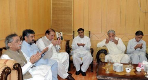 Waseem Akhtar Shaikh with PM