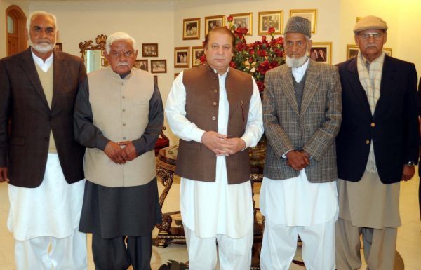 Rasheed Ahmad Khan with PM