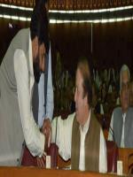 Malik Abdul Ghaffar Dogar with Nawaz sharif