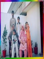 Chaudhary Muhammad Ashraf with family