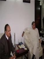 Chaudhary Muhammad Ashraf with Shahbaz Sharif