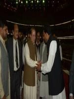 Chaudhary Muhammad Ashraf with Nawaz Sharif