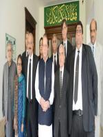 Rai Hasan Nawaz Khan with NAwaz Sharif
