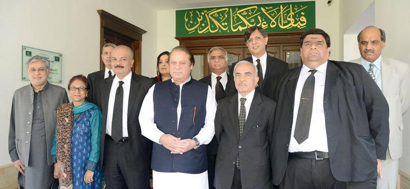 Rai Hasan Nawaz Khan with NAwaz Sharif