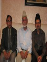Chaudhry Muhammad Munir Azhar with friends