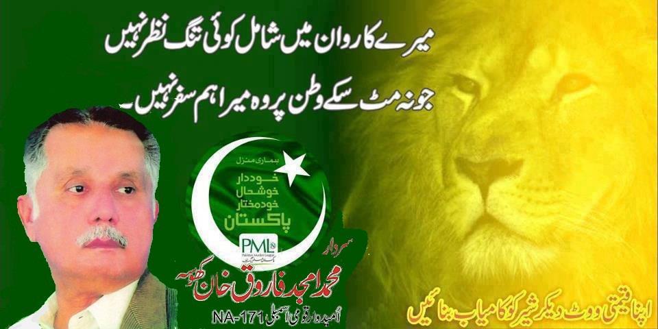 Sardar Muhammad Amjad Farooq Khan Khosa Banner