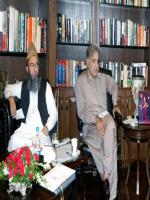 Hafiz Abdul Kareem with Shahbaz Sharif