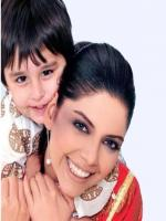 Hadiqa Kiani And Her Son