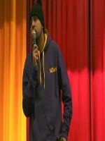 Humza Arshad  on stage