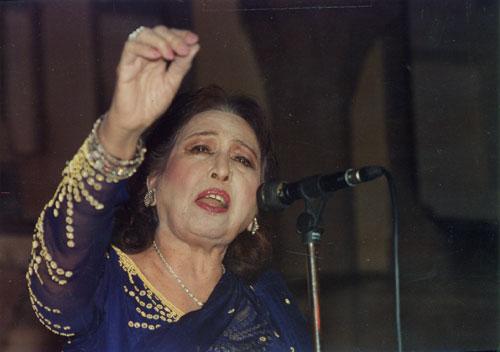 Iqbal Bano Stage Performance