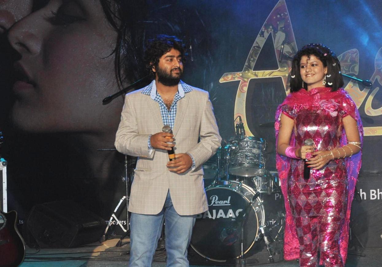 Arjit Sing at Stage