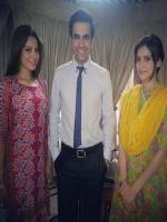 Junaid Khan with Pakistani Actresses