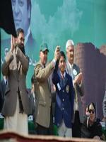 Muhammad Baligh Ur Rehman with Nawaz Sharif