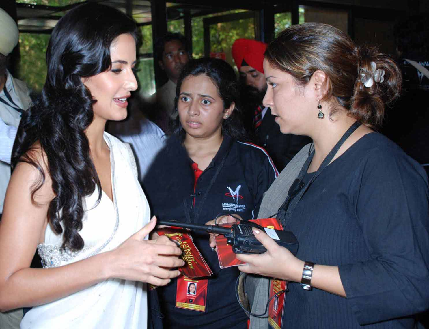 Chairperson Of Momentum Group With Katrina Kaif