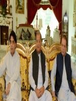 Mian Riaz Hussain Peerzada with PM