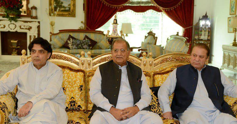 Mian Riaz Hussain Peerzada with PM