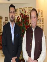 Alam Dad Laleka With PM,Election 2013