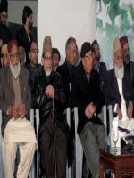 Sheikh Fayyaz Ud Din with party members