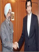 Makhdum Khusro Bakhtyar with K.C Singh