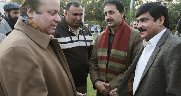 Mian Imtiaz Ahmad with PM