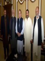 Muhammad Arshad Khan Laghari with PM
