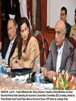 Syed Khursheed Ahmed Shah in Meeting