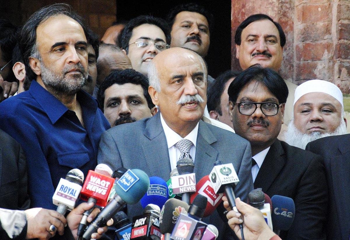 Syed Khursheed Ahmed Shah answer to Media