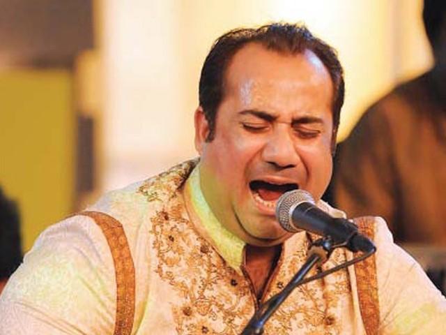Rahat Nusrat Fateh Ali Khan Stage Performance