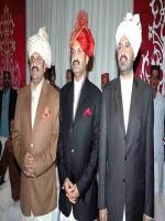 Sardar Ali Muhammad Khan Mahar with brothers