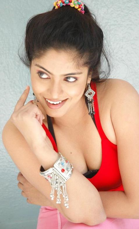 Reshma in Red Dress Hot