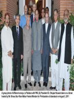 Ghous Bux Khan Mahar Group photo