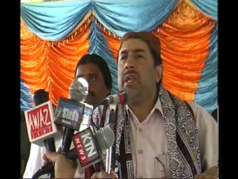 Mir Aamir Ali Khan Magsi Addressing