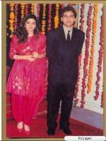 Zohaib Hassan with wife