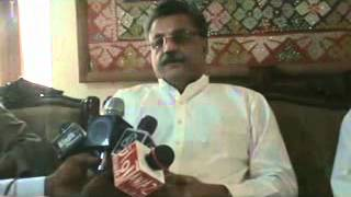 Rais Ghulam Murtaza Khan Jatoi with Media