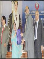 Dr. Azra Fazal Pechuho Giving Awards