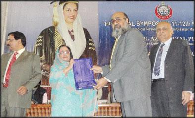 Dr. Azra Fazal Pechuho Giving Awards