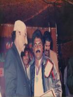Syed Ghulam Mustafa Shah with Qaim Ali Shah